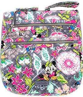 Vera Bradley Disney Parks Triple Zip Hipster Crossbody Bag Mickey and Friends