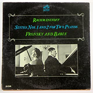 Rachmaninoff Suites Nos. 1 and 2 for Two Pianos Vronsky and Babin