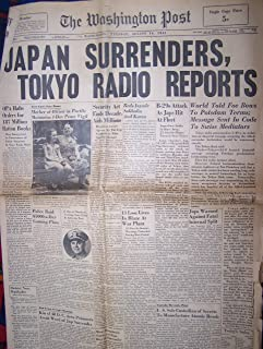 Best japan surrenders newspaper Reviews
