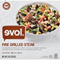 Evol Single Serve Meal, Fire Grilled Steak, 9 Ounce (Frozen)