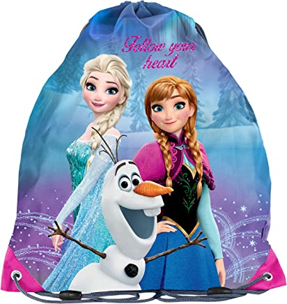Frozen Anna und Elsa Olaf Sportbeutel Schuhbeutel Turnbeutel Neu Kindergarten
