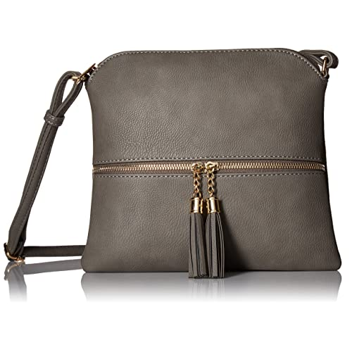 2463903a7374c Lightweight Medium Crossbody Bag with Tassel