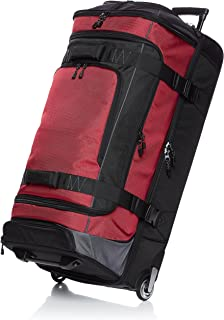 Ripstop Wheeled Duffel, Red