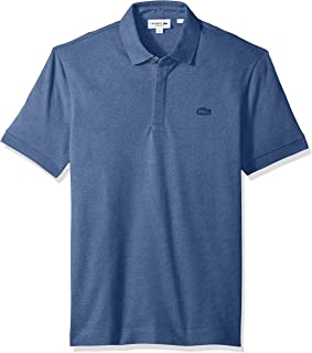 5c1f9db95b127f Lacoste Men s Short Sleeve Stretch Regular Fit Paris Polo