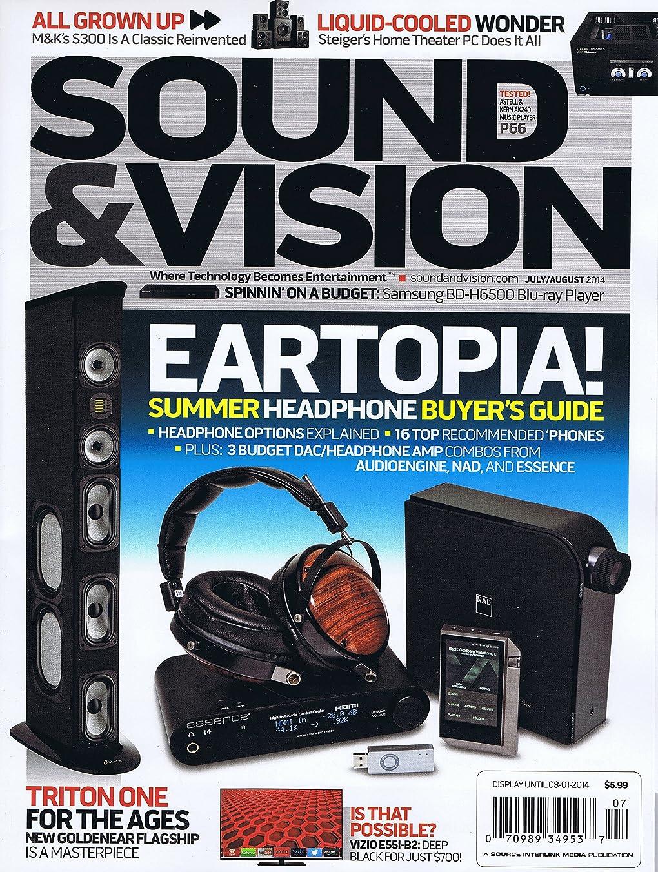 優越哲学日帰り旅行にSound & Vision [US] July - August 2014 (単号)
