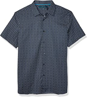 Men's Abstract Geo Print Shirt