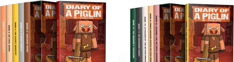 Dairy of a Piglin Story Collection (2 Book Series)