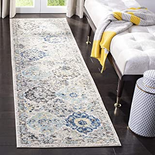 Safavieh Madison Collection MAD611A Bohemian Chic Vintage Distressed Runner, 2'..