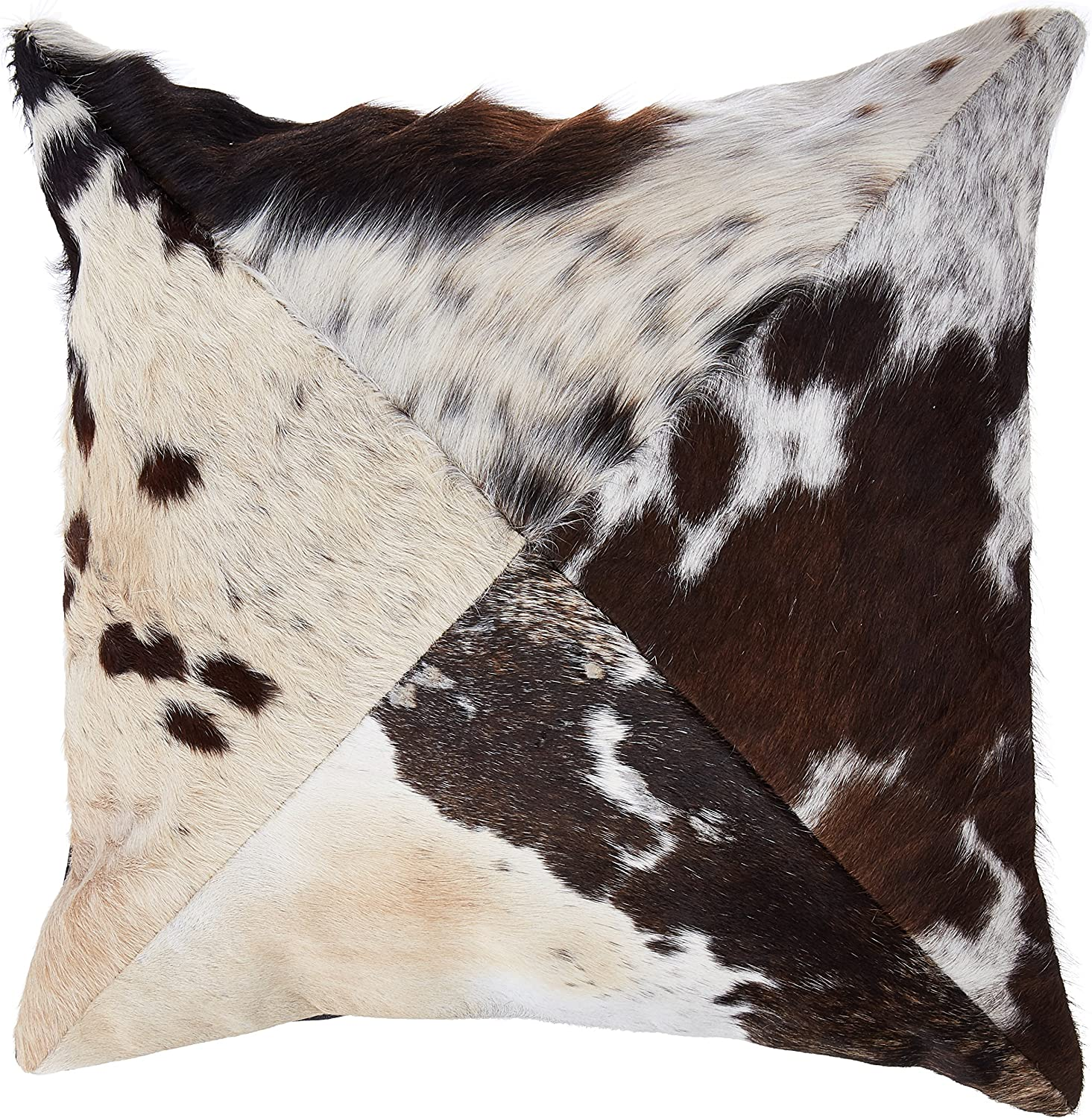 Cowhide Pillow Multi-color Cow Hide Cushion Decorative Throw Pillows (Single Side) By Ecowhides
