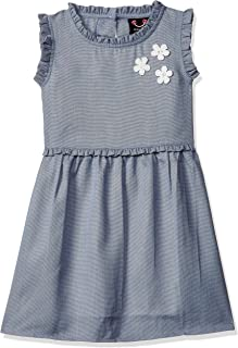 Smiling Bows Synthetic Dress