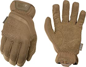 Mechanix Wear - FastFit Coyote Tactical Touch Screen Gloves (Large, Brown)