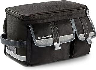 Schwinn Rack Top Bike Bag with Reflective Strip