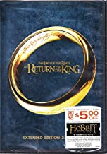 Lord of the Rings Return of the King 2 Disc Extended DVD