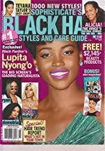 Sophisticate's Black Hair Styles and Care Guide Magazine March 2018