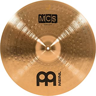 "Meinl 20"" Ride Cymbal – MCS Traditional Finish Bronze for Drum Set, Made In Germany, 2-YEAR WARRANTY (MCS20MR)"