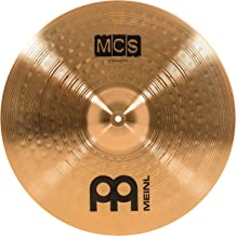"""Meinl 20"""" Ride Cymbal – MCS Traditional Finish Bronze for Drum Set, Made In Germany, 2-YEAR WARRANTY (MCS20MR)"""