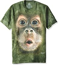 The Mountain Big Face Baby Orangutan T-Shirt - Short Sleeve, Adult, Unisex