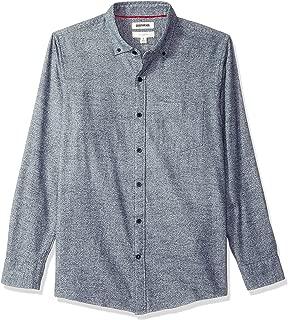 Amazon Brand - Goodthreads Men's Slim-Fit Long-Sleeve Brushed Heather Shirt