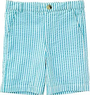 Masala Baby Boys Baby Crosby Shorts Stripe Turquoise