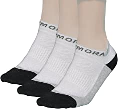 Rymora Cushioned Trainer Low Cut Ankle Socks with Seamless Toe Seams (Unisex for Men and Women)