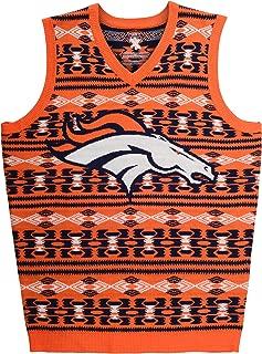 FOCO Aztec Print Ugly Sweater Vest