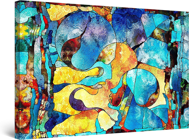 返品交換不可 Startonight Canvas Wall Art ふるさと割 Abstract - Angelique P FACE