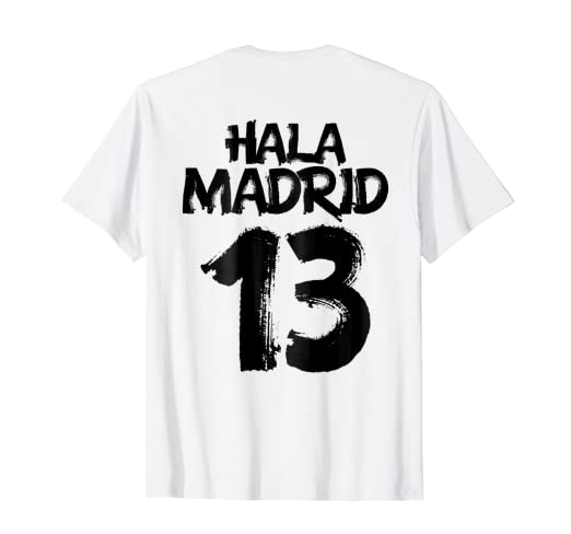 La Decimotercera t-shirt men women kids Hala Madrid 2018