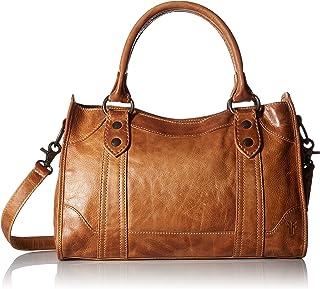 Melissa Zip Satchel Leather Handbag