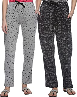 SHAUN Women's Regular Fit Trackpants (Pack of 2)