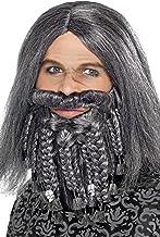 ウィッグ ひげ グレー 海賊風 大人男性用 Pirate Wig and Beard