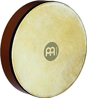 Meinl Percussion HD12AB طبل دستبند چوبی 12 اینچی با سر پوست بز ، قهوه ای آفریقایی