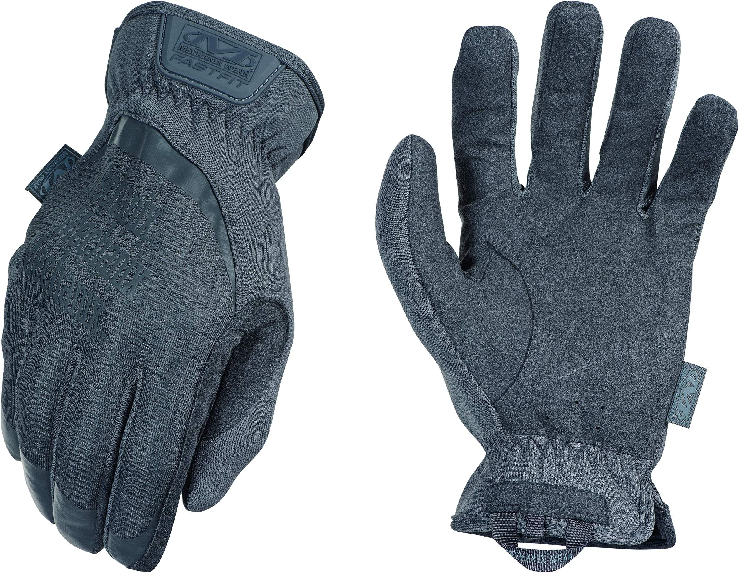 Mechanix Wear FFTAB-88-009 : FastFit Wolf Grey Tactical Work Gloves (Medium, Wolf Grey)