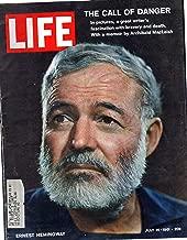 Original Life Magazine from July 14, 1961 - Ernest Hemingway obituary