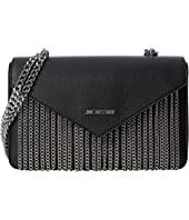 LOVE Moschino - Rectangle Envelope Bag with Metal Chains