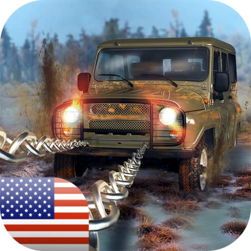 World UAZ Offroad Simulator: America, Canada and Beyond