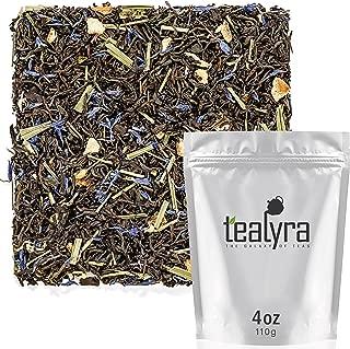 Tealyra - Earl Grey Premium - Best Classic Black Loose Leaf Tea - Fresh Award Winning Tea - Medium Caffeine - All Natural - 110g (4-ounce)