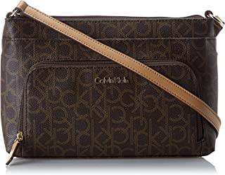 Calvin Klein Monogram Cross-Body Handbag