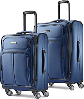 Leverage LTE Softside Expandable Luggage with Spinner...