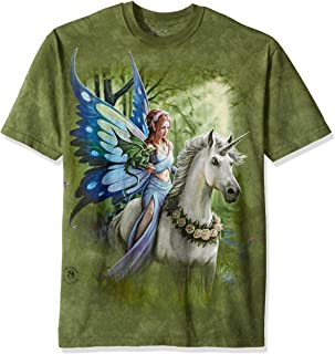 The Mountain Unisex Adult Realm of Enchantment Fairy T Shirt