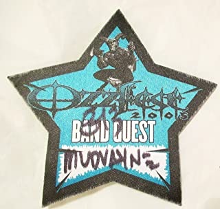 2005 8/13 OzzFest Backstage Pass Band Guest Mudvayne Mountain View CA