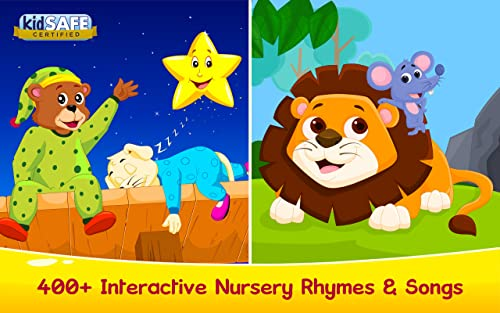 Kids Learning Games, Nursery Rhymes, Children Stories, Songs, ABC For Preschool Toddlers...