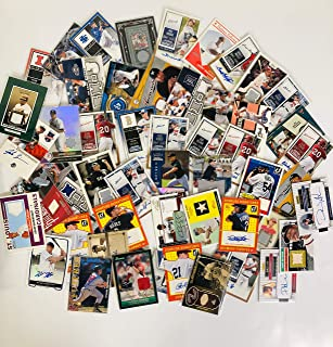 MLB Baseball Card Relic Game Used Jersey Autograph Hit Lot w/ 10 Relic Autograph or Jersey Cards in every Box - PARTY FAVORS or GIFT for a Baseball Fan !