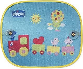 Tela Protetora para Sol Trenzinho, 2 Unidades, Chicco, Azul