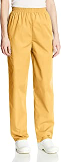 Cherokee Women's Workwear Elastic Waist Cargo Scrubs Pant, Dandelion, XX-Large