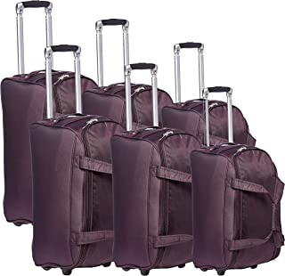 New Travel Duffles Trolly C1105/3P Bag, Plum