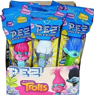 Trolls Pez Dispensers (Pack of 12)