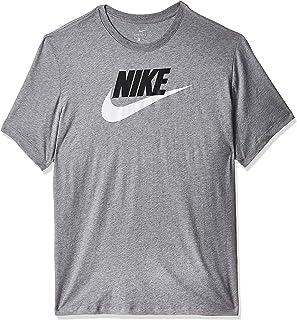 تي شيرت فوتورا مع طبعة العلامة التجارية للرجال من نايك للملابس الرياضية