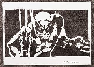 comprar comparacion Poster Lobezno X-Men Grafiti Hecho a Mano - Handmade Street Art - Artwork