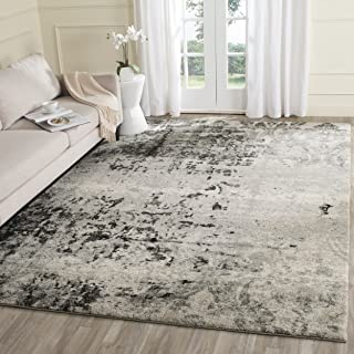 Safavieh Retro Collection RET2139-7980 Modern Art Deco Light Grey and Grey Area Rug (10' x 14')