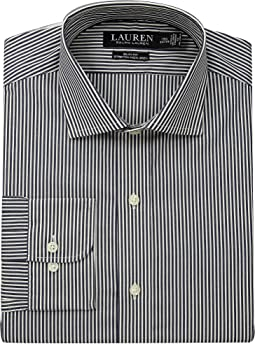 Slim Fit No-Iron Multi-Stripe Estate Dress Shirt